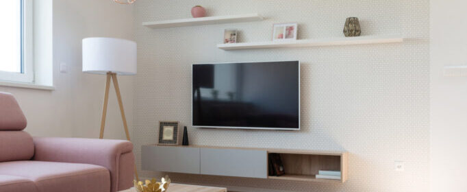 hangend tv meubel van Perfecthomeshop