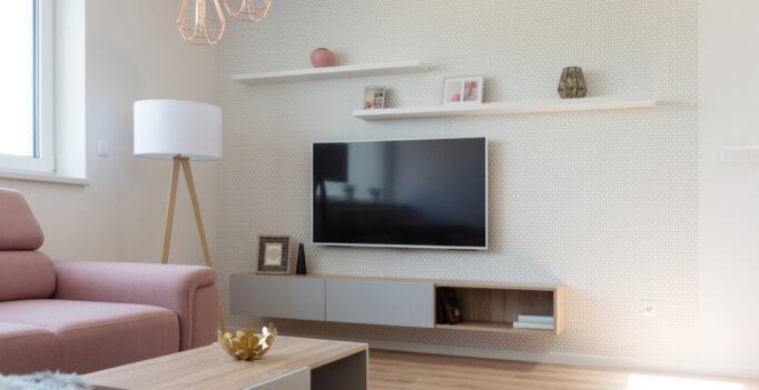 hangend tv meubel van Perfecthomeshop